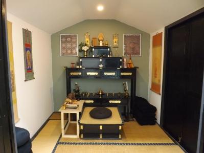 Interior of Shikan Do, UK