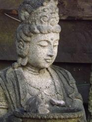 Bodhisattva feeding the birds