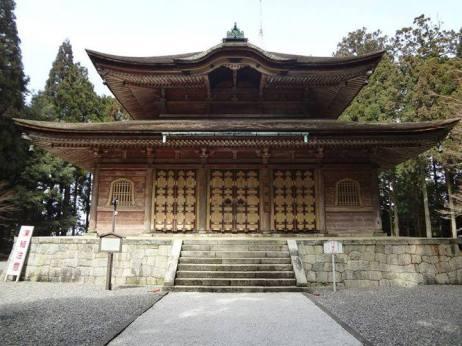 Protector Hall enshrining Bishamoten, Senzoji