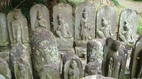 Tomb stones at Tamonin